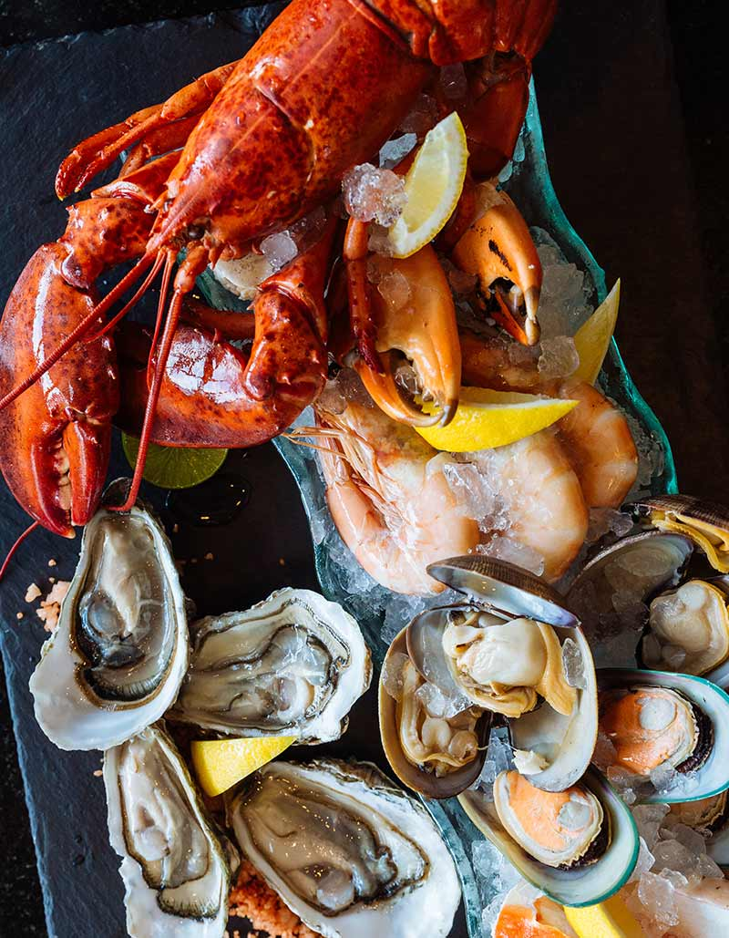 Fresh Seafood | Lobster, Oysters, Clams